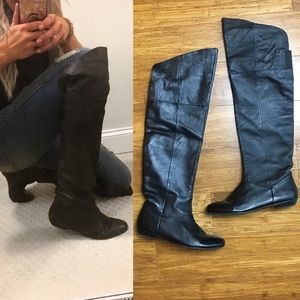 Chinese Laundry Flat Over The Knee Boots 8